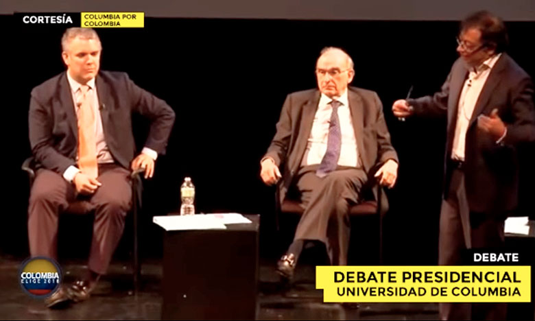 El acalorado debate entre Duque, Petro y De La Calle (VIDEO)
